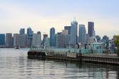 Ward's Island pier, Toronto — Stock Photo