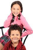 Děti, chlapec a dívka — Stock fotografie