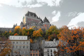 Chateau a quebec city, canada — Foto Stock