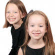 Two young girls — Stock Photo #4556335