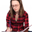 Teen student — Stock Photo #4841018