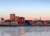 City panorama of Saint John, New Brunswick — Stock Photo
