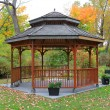 Gazebo in Toronto Island - Stock Photo