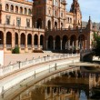 Seville plaza — Stock Photo #5108329