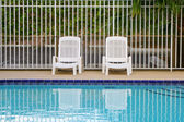 Pool deck — Stock Photo