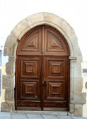 European doorway — Stock Photo