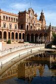 Sevilla plaza — Stock fotografie