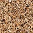 Pebble. shingle. Natural texture — Stock Photo