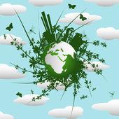 Eco background — Stock Photo