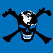 ドクロの海賊 — ストック写真