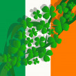 Saint Patrick's Day background — Stock Photo