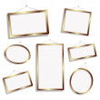 Stock Photo: Empty frames