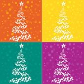 Christmas tree background — Стоковое фото