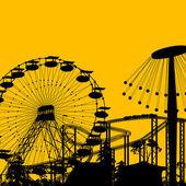 Parque de atracciones — Foto de Stock