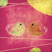 Tweet kuşlar — Stok fotoğraf