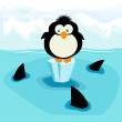Penguin — Stock Photo #4589605