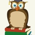 Wise owl — Stock Photo