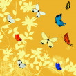 Butterflies background illustration — Stock Photo #4652230