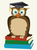 Wise owl — Stock Photo