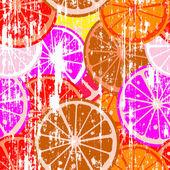 Grunge lemons — Stock Photo