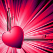 Abstract Valentine — Stockfoto