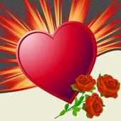 Jour l'illustration de valentine — Photo