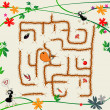 Complicated maze — Stock Photo