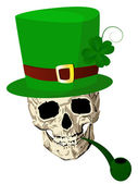St.Patrick skull — Stock Photo