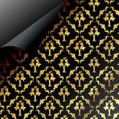 Seamless dark pattern design — Stock Photo