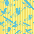 Seamless pattern planes layout — Stock Photo