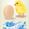Easter card 2 — Stock Photo