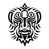 Tattoo symbol — Stock Vector