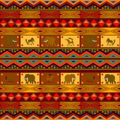 Ethnic pattern — Vettoriale Stock