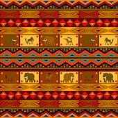 Etnische patroon — Stockvector