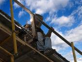 Acetylene,construction,cutting,dangerous — Stock Photo