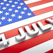 Independence day — Stock Photo #4943404