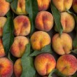 Stockfoto: Fruit peaches ripe