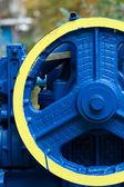 新的发动机电机电气 — 图库照片