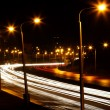 Stock Photo: Road night city