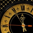 Stock Photo: Clock dial arrows