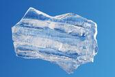 Ice block isolated piece — Stock Photo