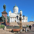 Helsinki Senate Square — Stock Photo