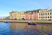 River Fontanka, St.Petersburg — Stock Photo