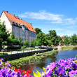 Flowering Uppsala. Sweden — Stock Photo