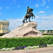 St. Petersburg, Bronze Horseman — Stock Photo