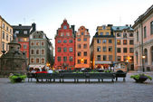 Stockholm. Old square Stor Torget — Stock Photo