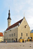 Medieval Tallinn Town Hall, 13 th century — Stock Photo