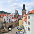 Stock Photo: Prague, Lesser Town Tower