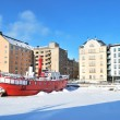 Helsinki in sunny winter day — Stock Photo #5192564