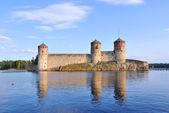 Savonlinna, finlandia. antica fortezza olavinlinna — Foto Stock